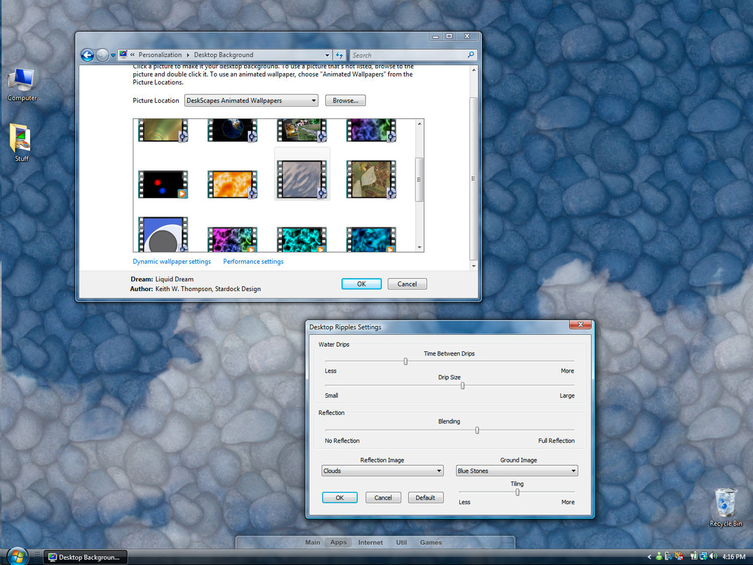 Релиз DeskScapes 2.0 намечен на февраль 2008 года, но компания.