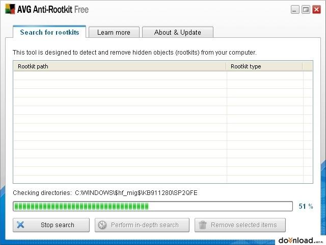 AVG Anti-Rootkit Free 1.1.0.42 stabile Version 32-bit ...