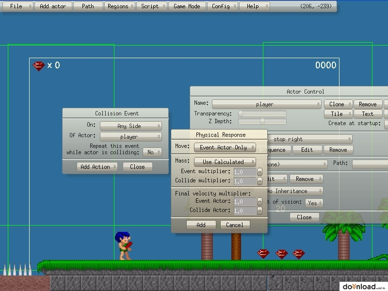 Spiele Editor